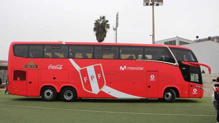 Conoce al nuevo bus que acompañará a la Selección Peruana