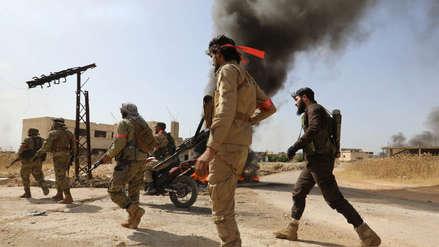 Siria: Más de cien muertos en 24 horas de combates entre Ejército y facciones opositoras