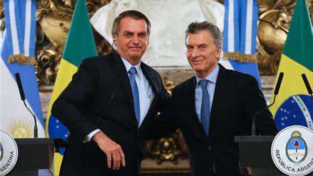 Bolsonaro justifica la creación de una moneda común con Argentina para frenar el socialismo