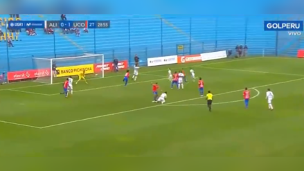 ¡De cabeza!: Mauricio Affonso puso el 1-1 en partido de Alianza Lima ante Unión Comercio