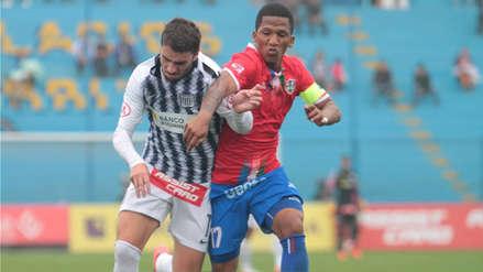 Alianza Lima empató con Unión Comercio en el regreso de Pablo Bengoechea