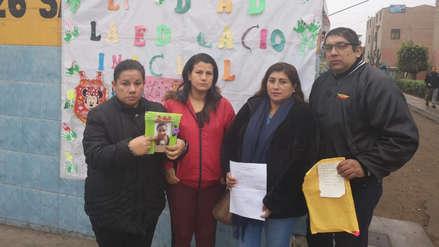 Padres denuncian a docente por presunto maltrato a niños menores de tres años