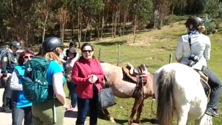 Prohíben paseos a caballo en el parque arqueológico de Saqsayhuaman