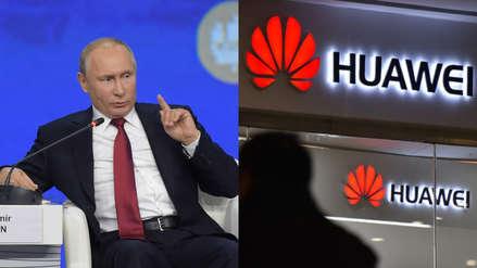 Rusia | Vladímir Putin denuncia los intentos de excluir a Huawei de mercados internacionales