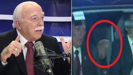 Tubino responde a críticas por esconderse en auto: