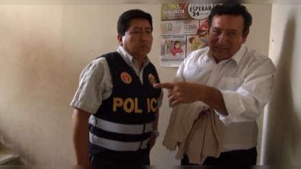 Mandan preso a funcionario municipal acusado de cobrar coima por obra en Chiclayo