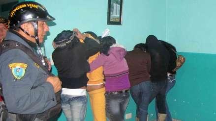 Cinco mujeres fueron rescatadas de una casa en Callao donde eran explotadas sexualmente