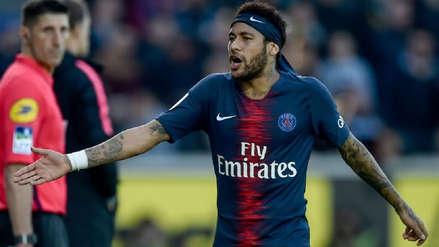 PSG emitió parte médico de Neymar: será baja por cuatro semanas