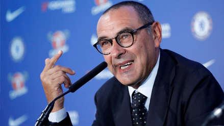 Maurizio Sarri y su respuesta a un hincha de Juventus:
