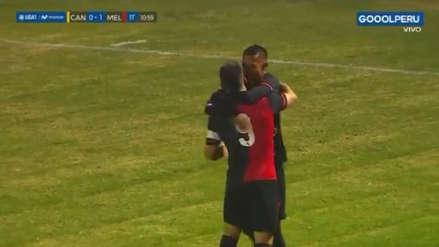 ¡Definió como crack! Jhonny Vidales aprovechó salida de Nicosia y marcó golazo ante Cantolao