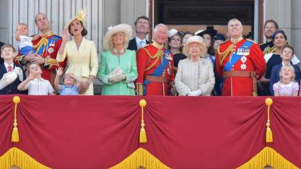 11 fotos del desfile de gala con el que la realeza británica celebra los 93 años de Isabel II