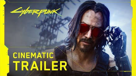 E3 2019 | Keanu Reeves protagoniza el último tráiler de Cyberpunk 2077 y confirma lanzamiento en el 2020