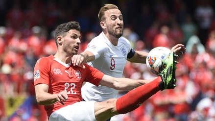 Inglaterra derrotó a Suiza por penales y se ubicó en el tercer lugar de la Liga de Naciones