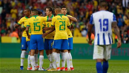 ¡Otro más de la 'Canarinha'! Roberto Firmino marcó el sexto gol de Brasil en el amistoso ante Honduras