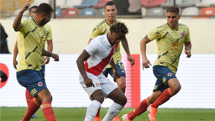 André Carrillo tras la derrota ante Colombia: