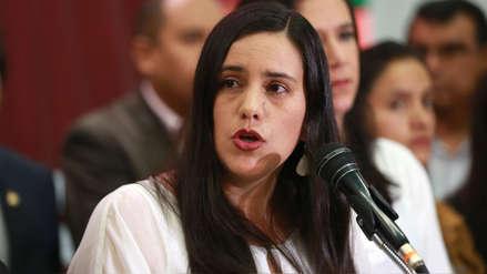 Verónika Mendoza: Bancada fujimorista votó una confianza con