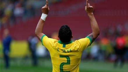 ¡La 'Canarinha' no perdona! Thiago Silva marcó el segundo gol de Brasil en el amistoso ante Honduras