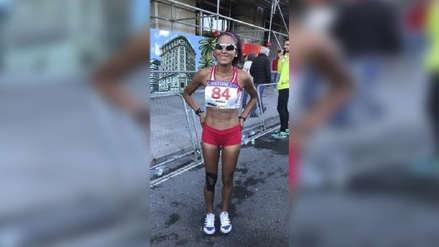 Atleta Mary Luz Andia consiguió marca mínima para Juegos Olímpicos Tokio 2020