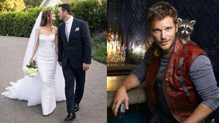 ¡La boda de Star-Lord! Chris Pratt se casó con la hija de Arnold Schwarzenegger