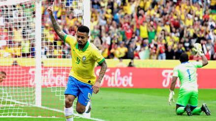 ¡Golazo! Gabriel Jesús puso el cuarto gol de la Selección de Brasil en el amistoso ante Honduras