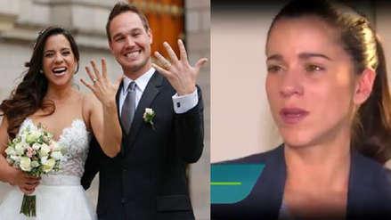 Vanessa Terkes revela entre lágrimas que George Forsyth le dijo