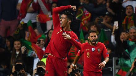 Cristiano Ronaldo: así celebró con Portugal el título en la Liga de Naciones | FOTOS