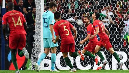 Con Cristiano Ronaldo, Portugal ganó 1-0 a Holanda y se coronó campeón de la Liga de Naciones