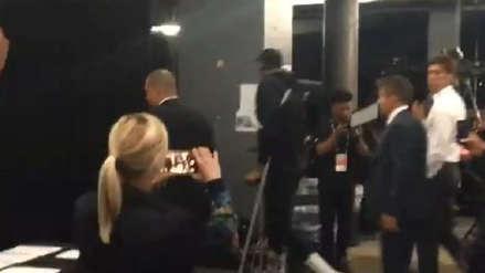 ¡Fuertes imágenes! Kevin Durant se retiró en muletas del Scotiabank Arena tras sufrir lesión