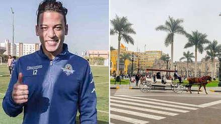 Cristian Benavente pasa sus vacaciones en Lima tras culminar temporada con Pyramids FC