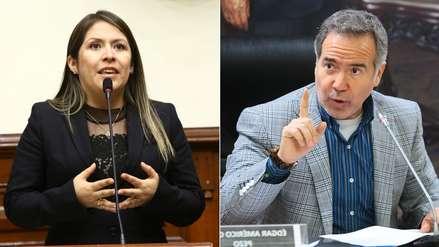 Vilcatoma denunció a Petrozzi ante la Comisión de Ética por llamarla