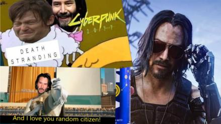 E3 2019 | La participación de Keanu Reeves en Cyberpunk 2077 hace que el internet se enamore del actor y cientos de memes son creados