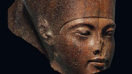 Egipto pidió al Reino Unido que frene la subasta de un busto de Tutankamón