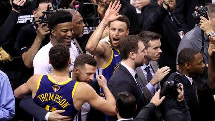 Warriors vs. Raptors  EN VIVO: horario y canal del quinto partido de las finales de NBA