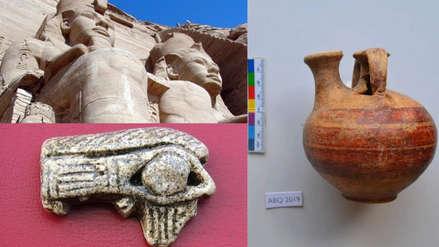 Descubren almacenes completos de Ramsés II en el norte de Egipto
