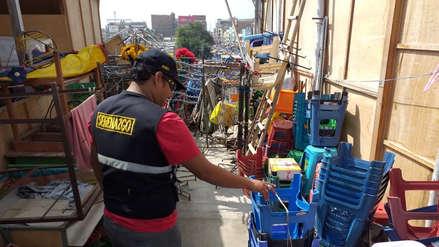Chiclayo | Almacén clandestino de 200 ambulantes era una bomba de tiempo