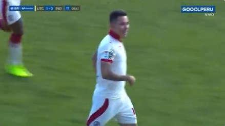 Jean Deza volvió a anotar un golazo en el partido de UTC frente a Pirata FC