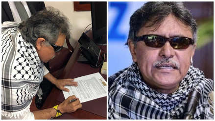 Exjefe guerrillero de las FARC requerido por EE.UU. juramentó como congresista en Colombia