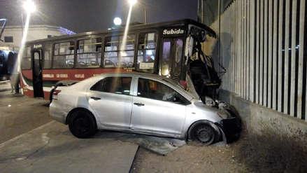 Triple choque en Chorrillos dejó un muerto y al menos 15 heridos