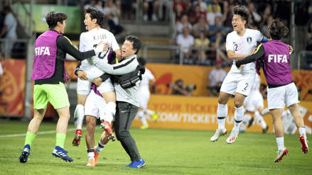 Corea del Sur venció a Ecuador por la mínima diferencia y selló su pase a la final del Mundial Sub 20
