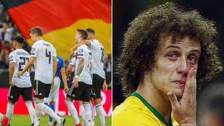Selección de Alemania troleó a Brasil recordando el humillante 7-1 del 2014