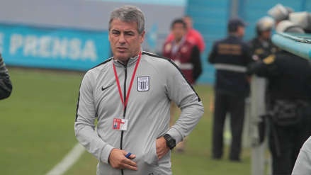 Pablo Bengoechea en su vuelta a Alianza Lima:
