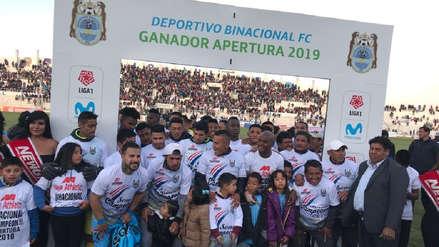 Binacional campeón: 10 datos que nos dejó el torneo Apertura por la Liga 1 Movistar