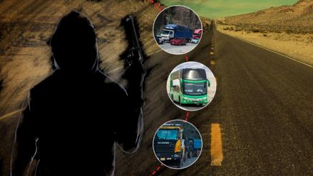 Estas son las zonas del Perú donde ocurren más asaltos en carreteras