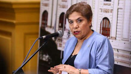 Salgado niega que Fuerza Popular haya desistido presidir Mesa Directiva en nueva legislatura