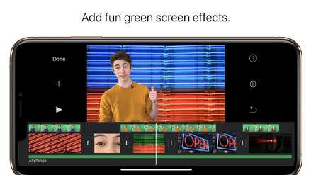 Apple: La nueva versión de iMovie te permite borrar fondo verde en tus videos desde el iPhone