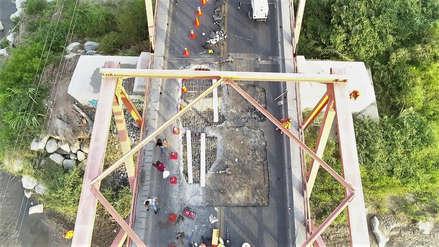 Chiclayo | Vía restringida a la ciudad por 15 días debido a cierre de Puente de Reque