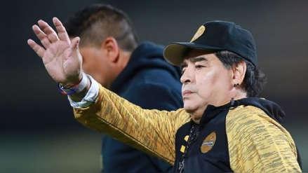 Diego Maradona dejó de ser entrenador de los Dorados de Sinaloa