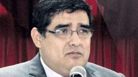Fiscal Rodríguez Monteza no asistió a audiencia para defender prisión preventiva de Edwin Oviedo