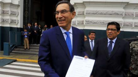 La aprobación de Martín Vizcarra se dispara tras la cuestión de confianza ante el Congreso