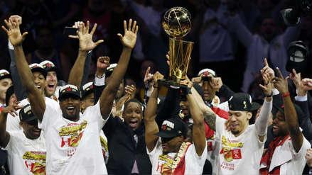 Raptors campeón de la NBA: así fue la eufórica celebración tras vencer a Warriors